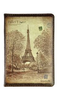 Leather Passport cover - Vintage