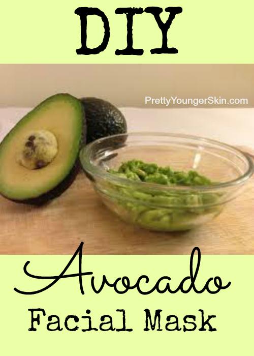 Easy DIY Avocado Facial Mask