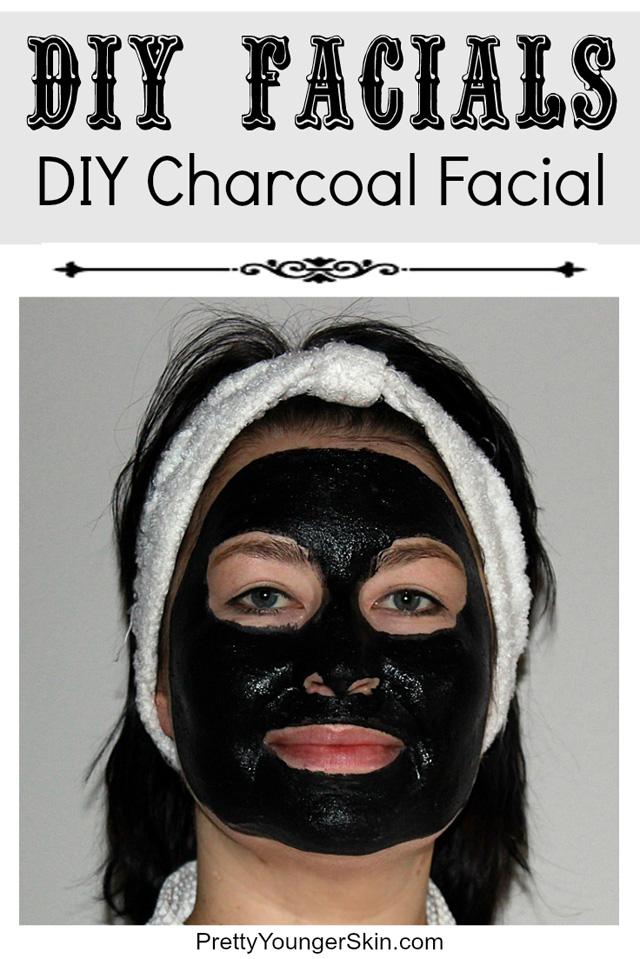 DIY Charcoal Facial Mask