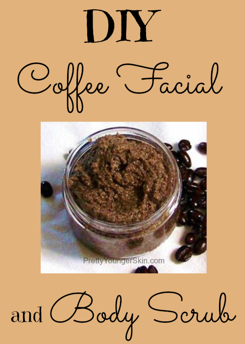 DIY Coffee Facial and Body Scrub