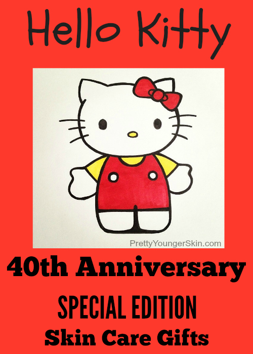 Hello Kitty 40th Anniversary Special Edition Skin Care Gifts