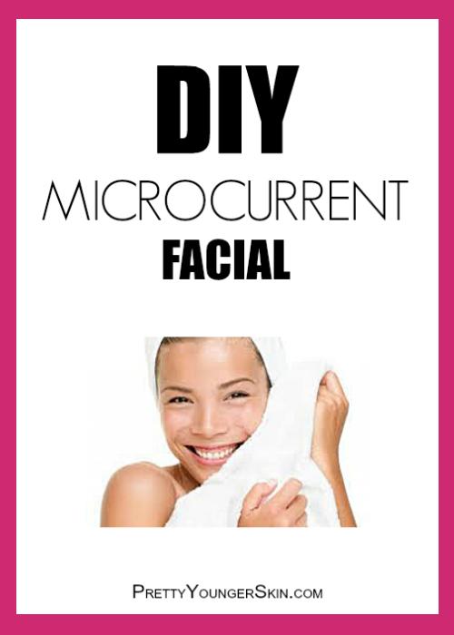 How To Do A DIY Microcurrent facial