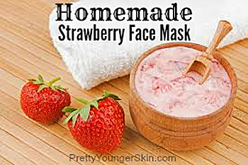 Homemade Strawberry Face Masks