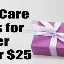 Top Skin Care Gifts for Her under $25