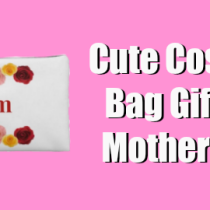 Cute Cosmetic Bag Gifts For Mother's Day