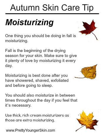 fall beauty tips - Preparing Your Skin Care Routine for Fall With These Beauty Tips ...